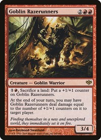 Goblin Razerunners, Magic: The Gathering, Conflux