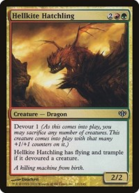 Hellkite Hatchling, Magic: The Gathering, Conflux