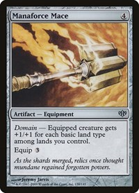 Manaforce Mace, Magic: The Gathering, Conflux