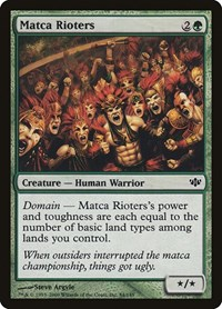 Matca Rioters, Magic: The Gathering, Conflux
