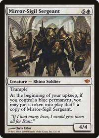 Mirror-Sigil Sergeant, Magic: The Gathering, Conflux