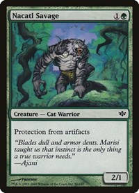 Nacatl Savage, Magic: The Gathering, Conflux
