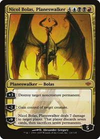 Nicol Bolas, Planeswalker, Magic: The Gathering, Conflux