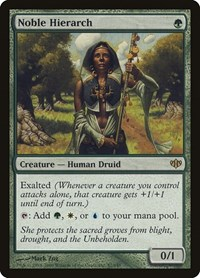 Noble Hierarch, Magic: The Gathering, Conflux