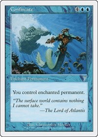 Confiscate, Magic: The Gathering, 7th Edition