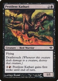 Pestilent Kathari, Magic: The Gathering, Conflux