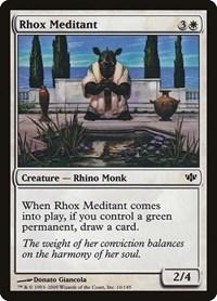 Rhox Meditant, Magic, Conflux