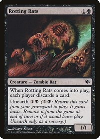 Rotting Rats, Magic: The Gathering, Conflux