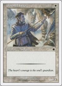 Devoted Hero, Magic: The Gathering, Starter 1999