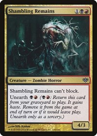 Shambling Remains, Magic: The Gathering, Conflux