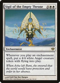 Sigil of the Empty Throne, Magic: The Gathering, Conflux