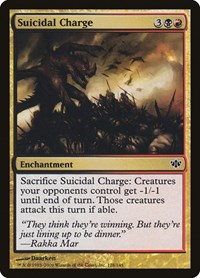 Suicidal Charge, Magic: The Gathering, Conflux