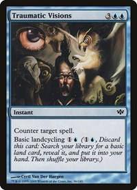 Traumatic Visions, Magic: The Gathering, Conflux