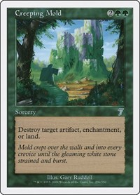 Creeping Mold, Magic: The Gathering, 7th Edition