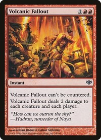 Volcanic Fallout, Magic: The Gathering, Conflux