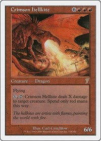 Crimson Hellkite, Magic: The Gathering, 7th Edition