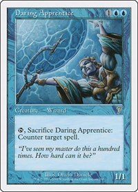 Daring Apprentice, Magic: The Gathering, 7th Edition