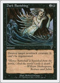 Dark Banishing, Magic: The Gathering, 7th Edition