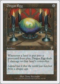 Dingus Egg, Magic: The Gathering, 7th Edition