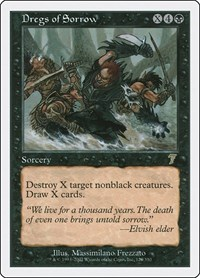 Dregs of Sorrow, Magic: The Gathering, 7th Edition
