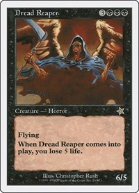 Dread Reaper, Magic: The Gathering, Starter 1999