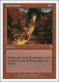 Earthquake, Magic, 7th Edition