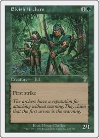Elvish Archers (Foil)