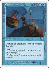 Evacuation, Magic: The Gathering, 7th Edition