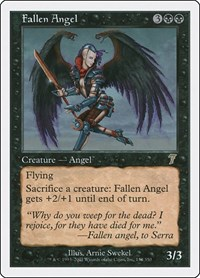 Fallen Angel, Magic, 7th Edition