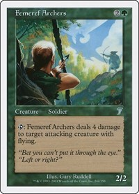 Femeref Archers, Magic: The Gathering, 7th Edition