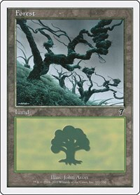 Forest (331), Magic, 7th Edition