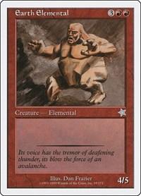 Earth Elemental, Magic: The Gathering, Starter 1999