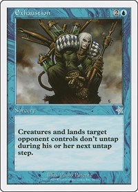 Exhaustion, Magic: The Gathering, Starter 1999