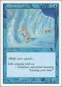 Glacial Wall, Magic, 7th Edition