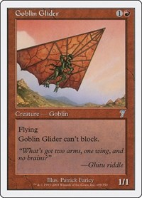 Goblin Glider, Magic: The Gathering, 7th Edition