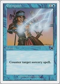 Extinguish, Magic: The Gathering, Starter 1999