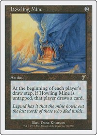Howling Mine, Magic: The Gathering, 7th Edition