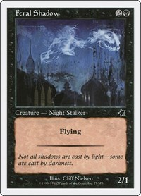 Feral Shadow, Magic: The Gathering, Starter 1999