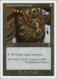 Jandor's Saddlebags (Foil)