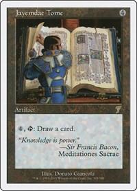 Jayemdae Tome, Magic: The Gathering, 7th Edition