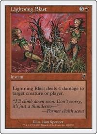 Lightning Blast, Magic, 7th Edition