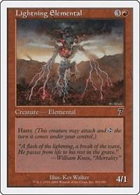 Lightning Elemental, Magic: The Gathering, 7th Edition