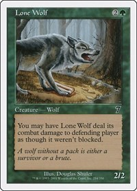 Lone Wolf, Magic: The Gathering, 7th Edition