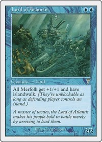 Lord of Atlantis, Magic: The Gathering, 7th Edition