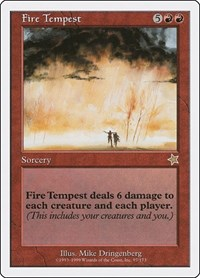Fire Tempest, Magic: The Gathering, Starter 1999