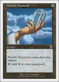 Marble Diamond, Magic: The Gathering, 7th Edition