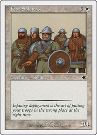 Foot Soldiers, Magic: The Gathering, Starter 1999