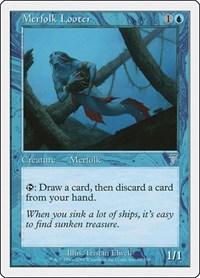 Merfolk Looter, Magic: The Gathering, 7th Edition
