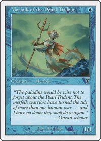 Merfolk of the Pearl Trident, Magic: The Gathering, 7th Edition
