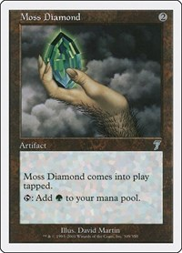 Moss Diamond, Magic, 7th Edition